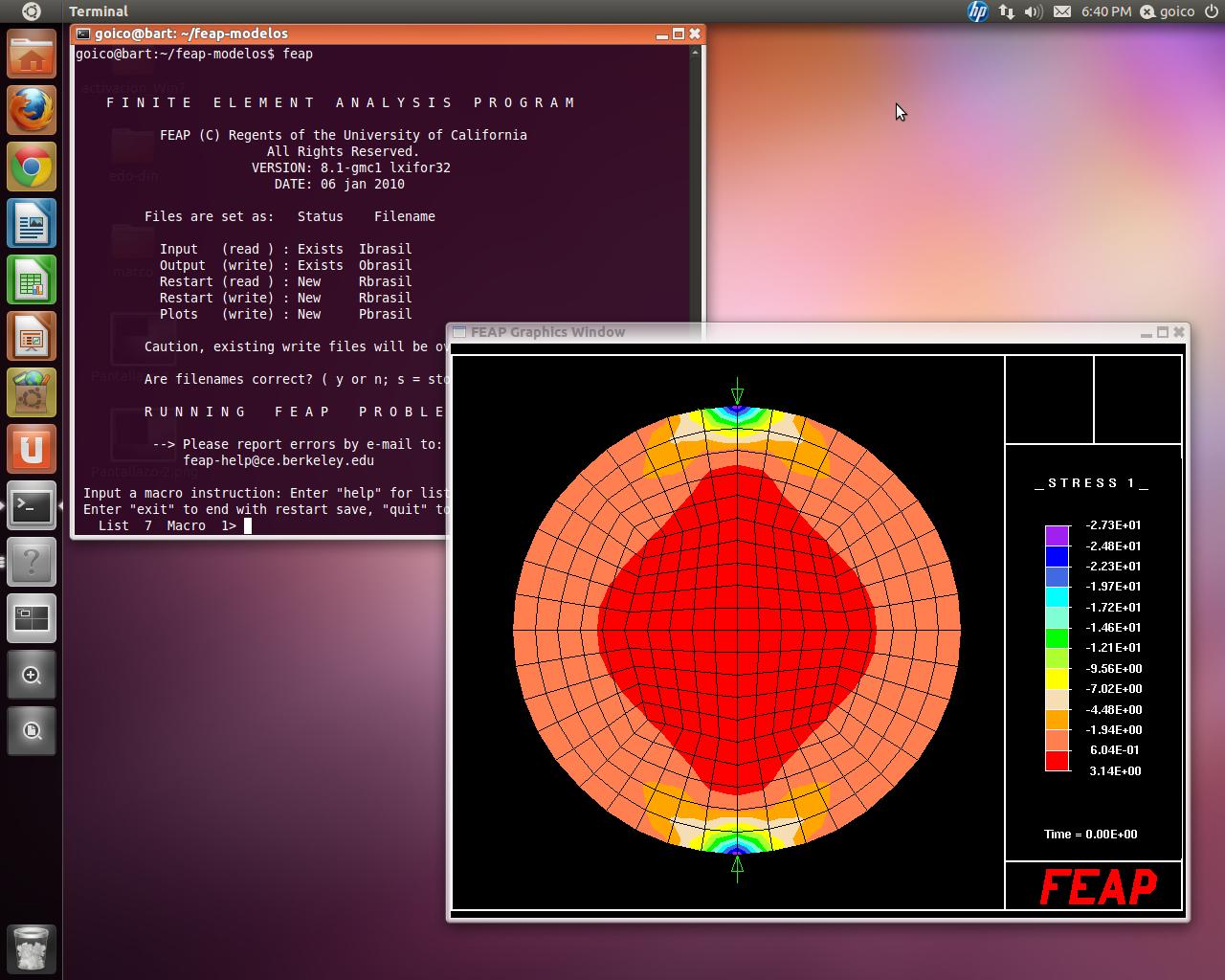 FEAP for GNU Linux